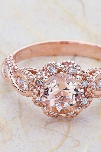 Rose Gold Vintage Wedding Rings | www.pixshark.com ...