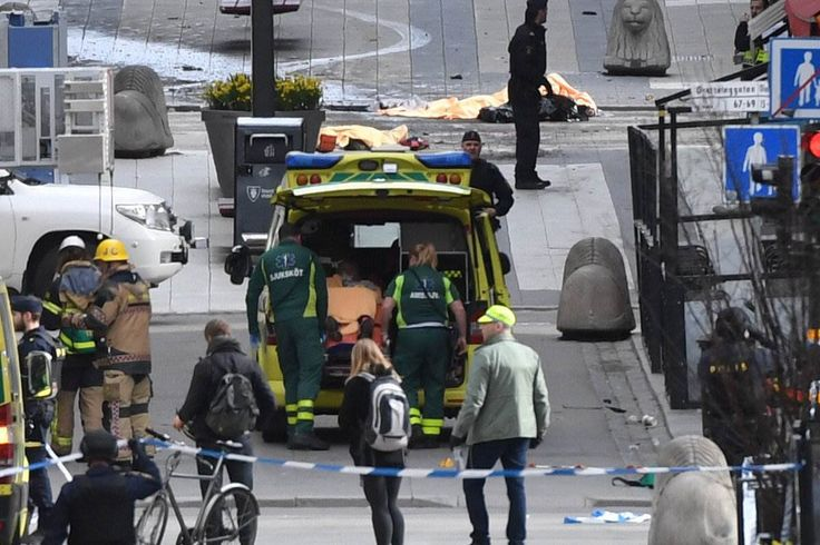 Stockholm: Truck Attack Kills at Least Four People