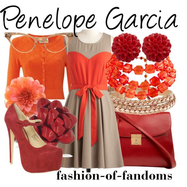 Penelope Garcia, created by fofandoms on Polyvore