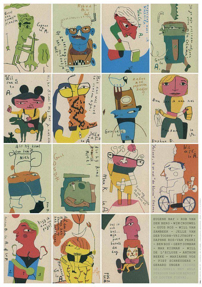 #OverPapier > 19.05.16 < Insert #PostersPapierHier - Publisher/Production #Lenoirschuring www.lenoirschuring.com - Art Direction/Design #AndreToet © 2016 - www.andretoet.com - Illustrations: Bart van Leeuwen
