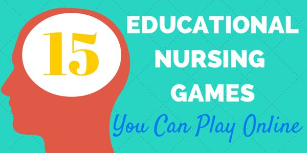 Educational nursing games to sharpen your skills. A lot of this stuff is just technical that I don't need to know, but a few of them are helpful.