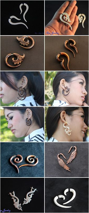 #Favorite/ #Pin / #repin to support #handmade product  Unique design #Boneearring and #WoodEarring, handmade #BoneCarving and #WoodCarving style #Organic #Jewelry   http://ayujewelry.etsy.com