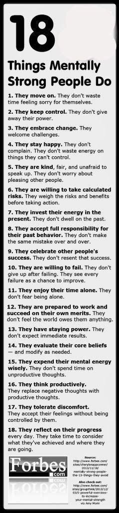 LOOK A DAY > CONSULTORIA DE IMAGEM   LIFE COACHING   PERSONAL BRANDING: FEEL   18 coisas que as pessoas mentalmente fortes fazem!