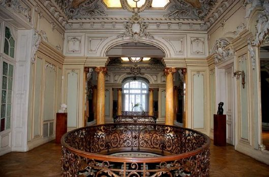 Art museum interior Craiova Romania palace romanians culture arts