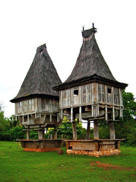 uma lulik (sacred house) East Timor