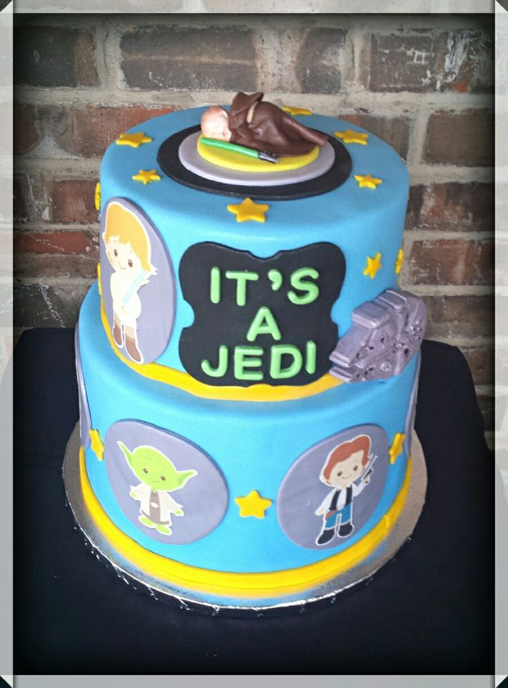 Star Wars Baby Shower Cake By Max Amor Cakes.