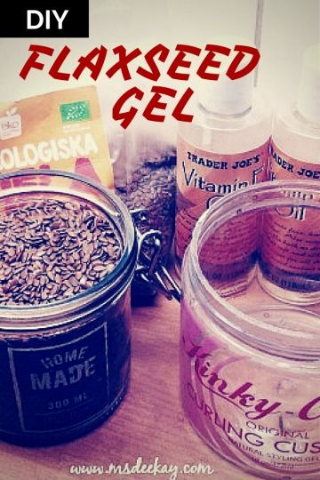 The Best DIY Flaxseed Gel Recipe Ever??!!!