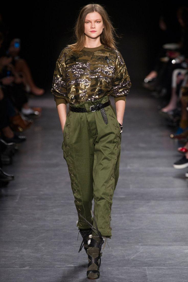 Комплект одежды в стиле милитари Isabel Marant