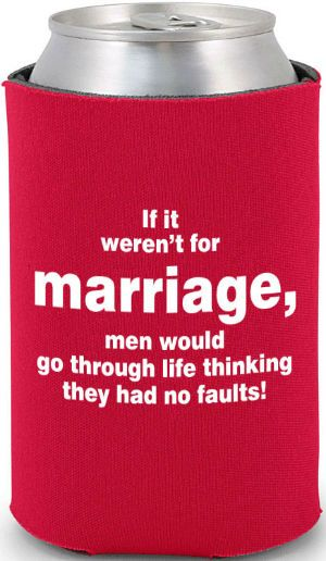 Wedding Koozies, Funny Weddings And One Color On Pinterest