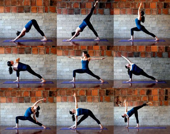 FitSugar Lower Body Yoga Sequence. I hope I actually get to this, it looks like a great stretch.