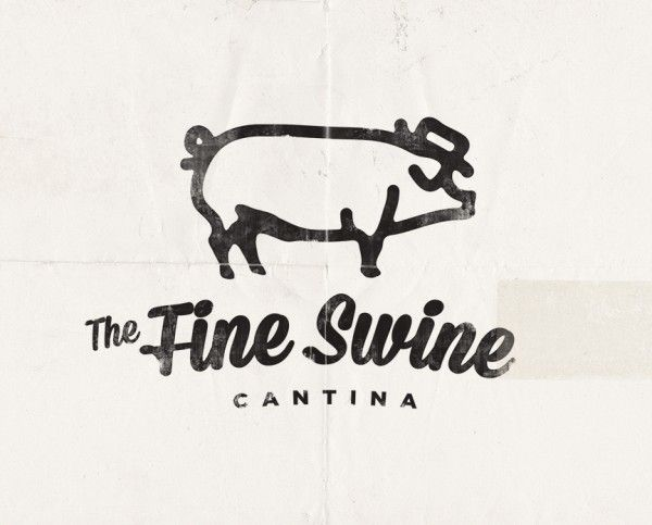 The Fine Swine Cantina Logo