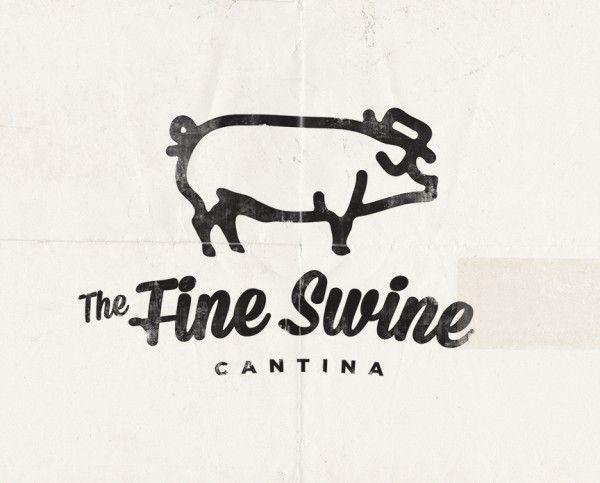 The Fine Swine Cantina Logo