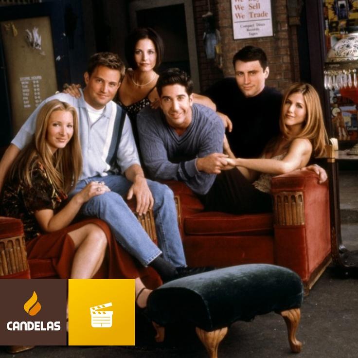 Friends, una serie clásica en el que el café también era protagonista.