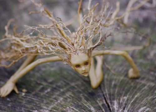 """""""Root"""" from chicorydellarts.typepad.com. Perfect for a fairy garden!"""