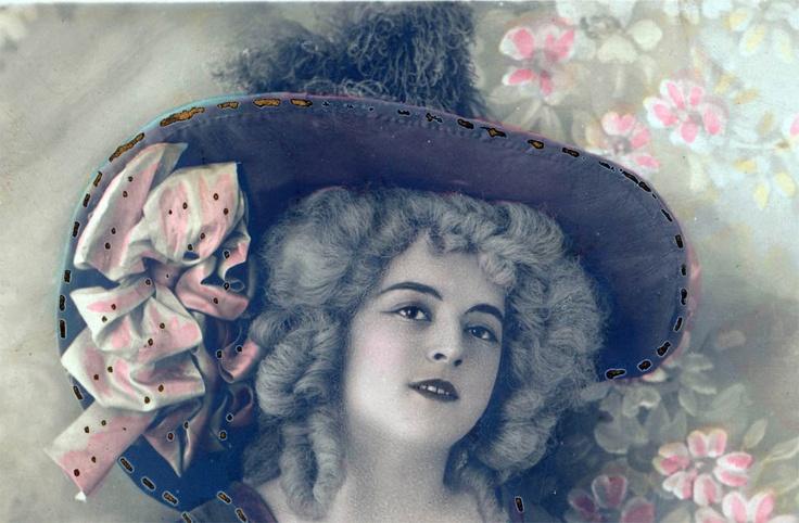 Beautiful French woman.