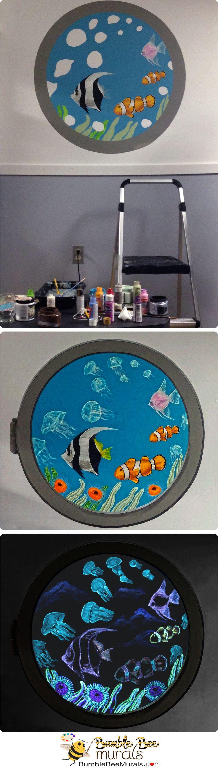 32 best nursery wall murals images on pinterest nursery wall under the sea custom kid room mural