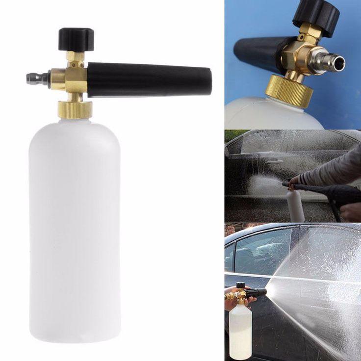 Buy US $14.00  Car Washer Foam Gun High Pressure Snow Foamer Water Gun Car Cleaning Snow Foam Lance Water Gun & Snow Foam Lance Cleaning Tool