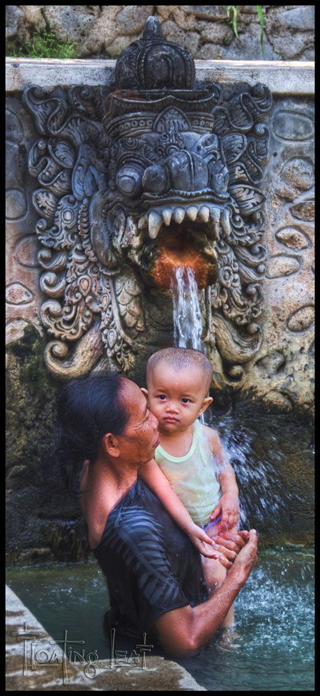 Bali Hot Springs ~ Yoga retreats and healing http://balifloatingleaf.com/bali-hot-springs-yoga-retreats/