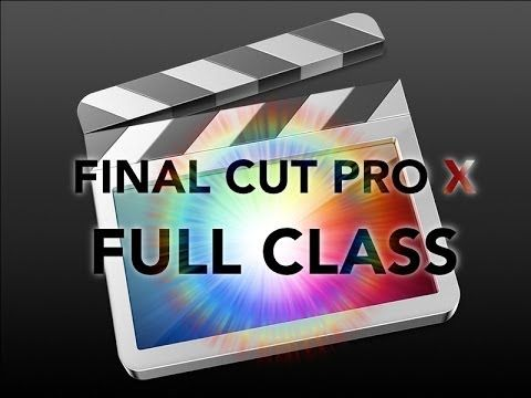 Take our FREE classes at http://pcclassesonline.com This is a full tutorial of Final Cut Pro X. We walk you through all the basics of editing from organizing...
