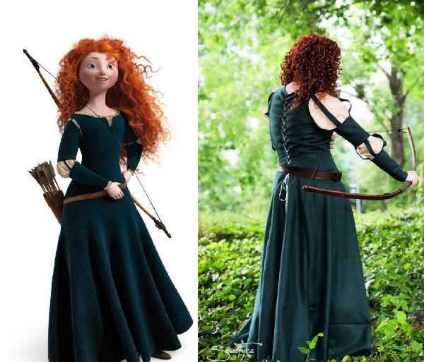 Merida, Brave   16 Ridiculously Good-Looking Disney Costumes You Can Actually Buy