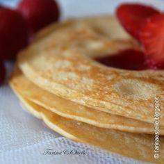 Pancakes leggeri con yogurt e farina di riso