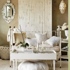 30 ways to re-purpose a crib: Decor, Ideas, Interior, Style, Shabby Chic, Living Room, White, Shabbychic