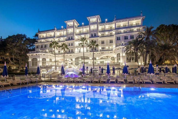 Gran Hotel Miramar (1926) | Malaga | Spain - originally opened as the Hotel Principe de Asturias and reopened in 2016