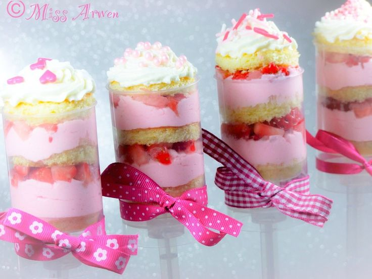 Push cake fraise