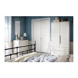 BIRKELAND Wardrobe - IKEA - this wardrobe would be great for the closet-less second bedroom