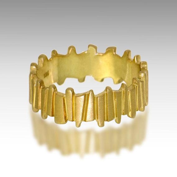 Gold Ring Alternative Men