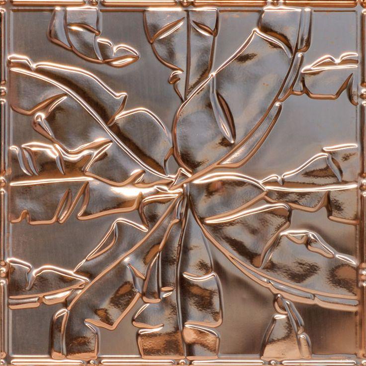 solid copper ceiling tiles actual aged copper tiles authentic copper panels patina - Copper Ceiling Tiles