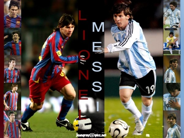 Lionel Messi...nuff said!