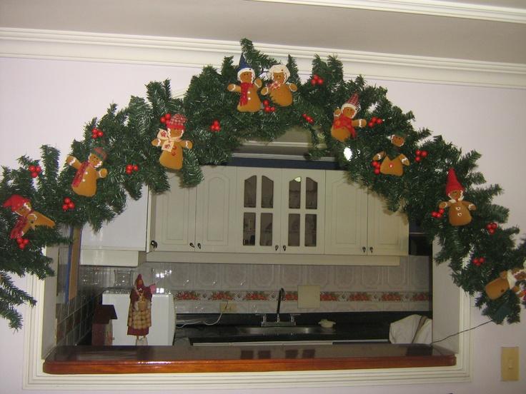 Guirnalda navide a sandy clavel christmas tree home for Guirnaldas para puertas navidenas