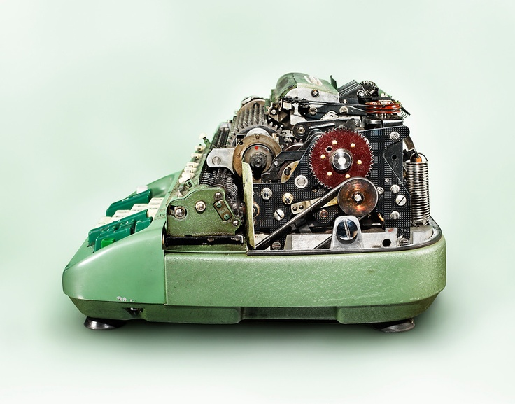 The inner workings of a calculating machine, by Kevin Twomey