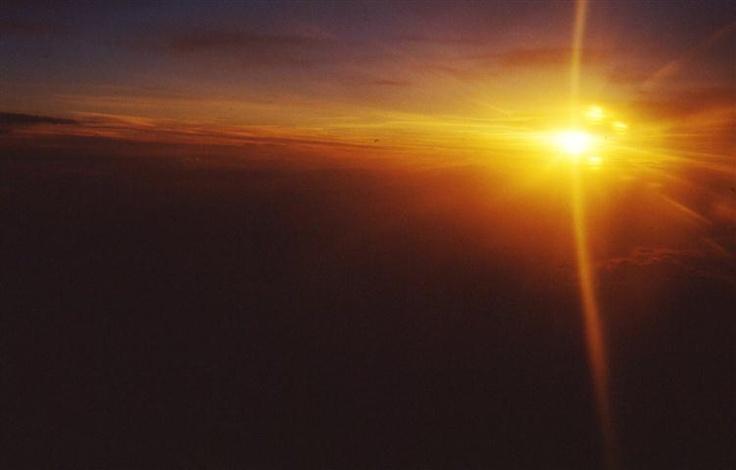 Tramonto a 10.000 metri. verso Istanbul