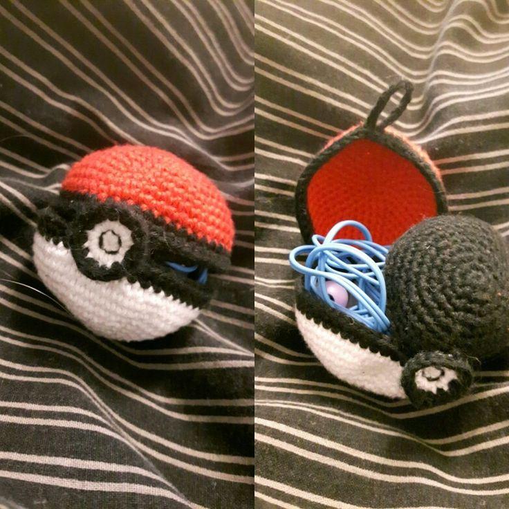 Pokeball to keep headphones in