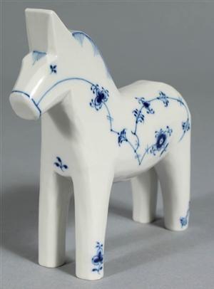 Vare: 3346911 Royal Copenhagen, Musselmalet. Häst nr 570
