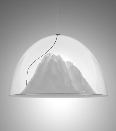 MOUNTAIN VIEW LAMP by  DIMA LOGINOFF  #3dPrintedLightning
