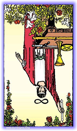 Tarot - Major Arcana - The Magician – Inverted Meaning