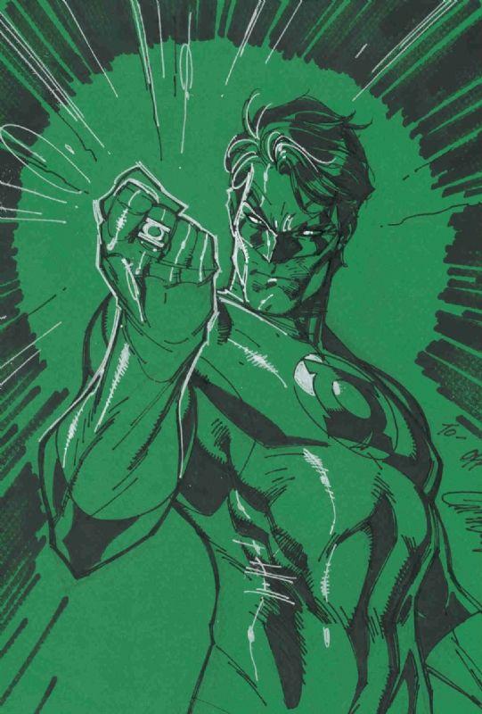 J. Scott Campbell Green Lantern