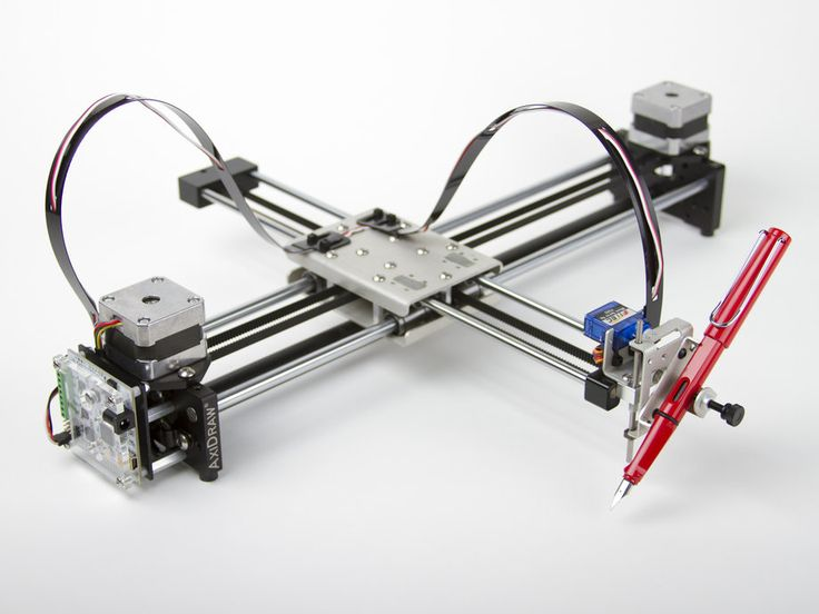 The AxiDraw, A Plotter Robot That Writes and Draws With a Variety of Pens and Markers