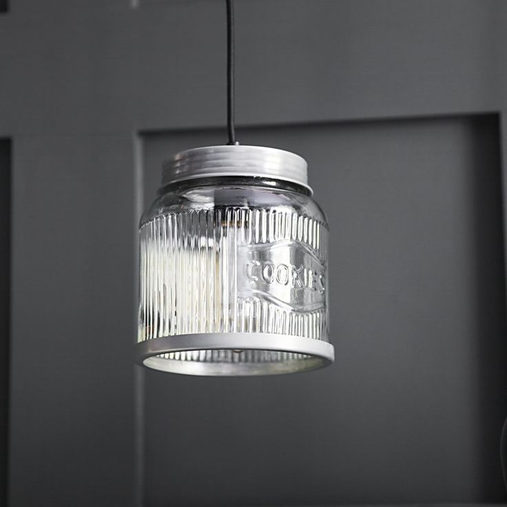 Cookie Jar Ceiling Pendant in Antique Zinc £49  Atkin and Thyme