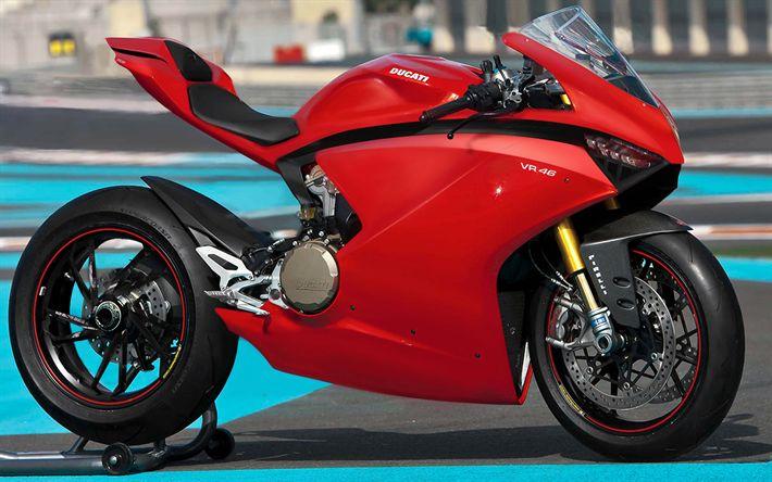 Descargar fondos de pantalla Ducati VR46 Concepto de 2018 bicicletas, 4k, Steven Galpin, motos deportivas, italiano de motocicletas, Ducati