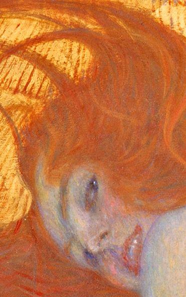 Gustav Klimt, Goldfish (detail), 1902