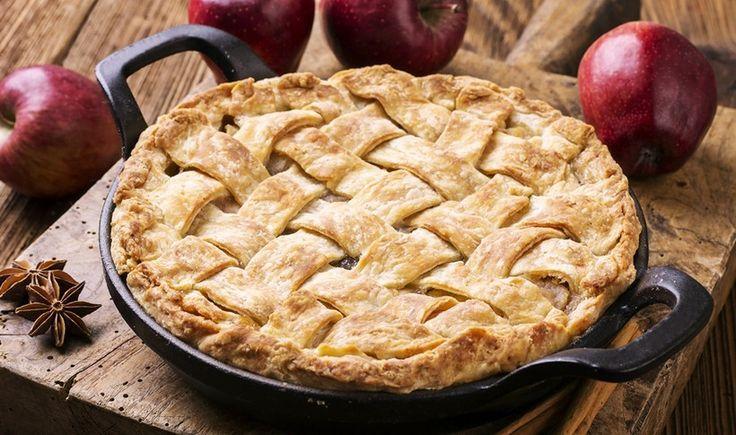 Εύκολη μηλόπιτα με 5 υλικά