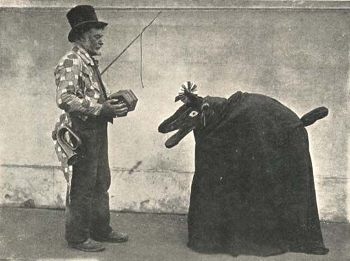 A Hooden Horse from Deal in Kent in 1909