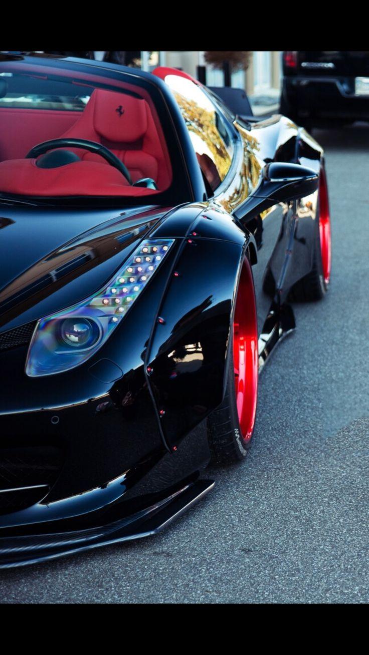 Flared Ferrari