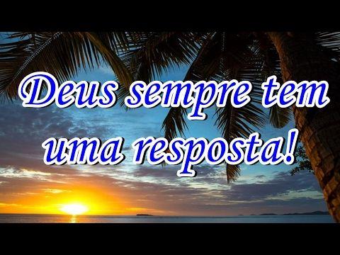 FALANDO DE VIDA!!: Deus sempre tem uma resposta - tente não chorar --...
