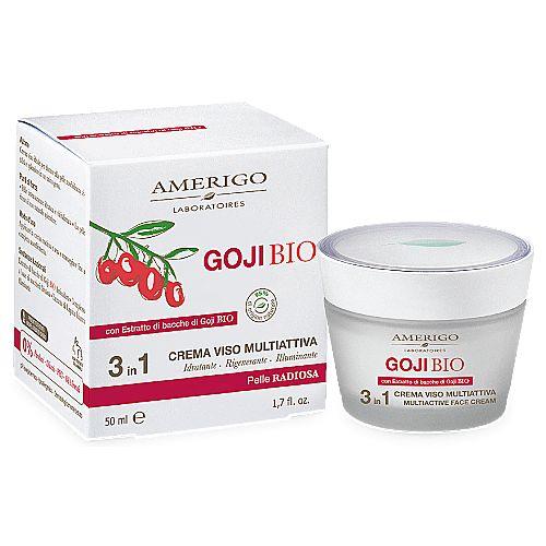 Crema Viso Multiattiva 3in1 Amerigo Idrata in profondità, rende il viso più luminoso e disteso a tutte le età in vendita su adorabilenatura.