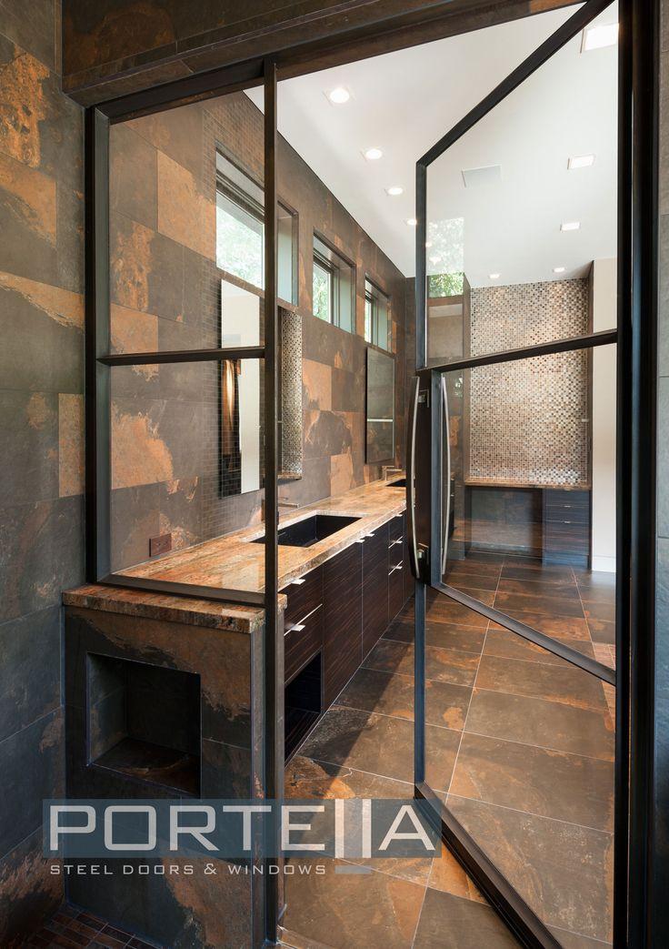 Steel Doors Dallas Modern Steel French Doors Enhance